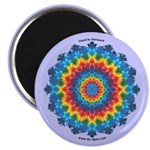 Tie-dye Art Magnet