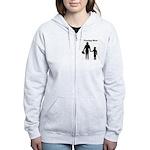 Fencing Mom Women's Zip Hoodie