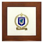 RIVEST Family Crest Framed Tile