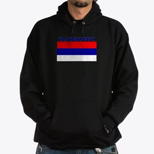 Djokovic Serbia Serbian Hoodie (dark)