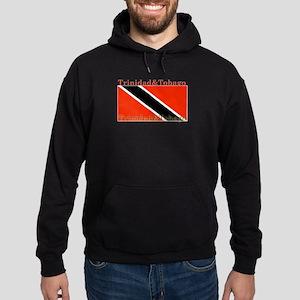 Trinidad & Tobago Flag Hoodie (dark)