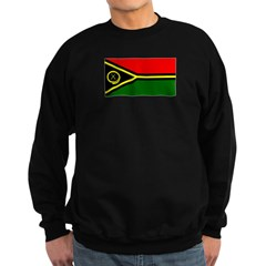 Vanuatu Blank Flag Sweatshirt (dark)