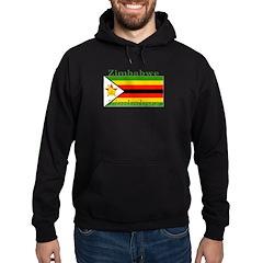 Zimbabwe Zimbabwean Flag Hoodie (dark)