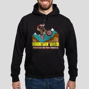 Mountain Biker Freedom Hoodie (dark)