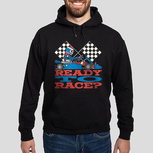 Ready to Race Go Kart Hoodie (dark)