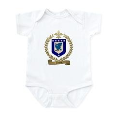 RIVET Family Crest Infant Creeper