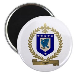 RIVET Family Crest Magnet