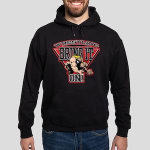 Wrestling Bring It On Hoodie (dark)