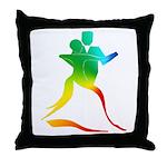 Ballroom Dancer #2 Throw Pillow