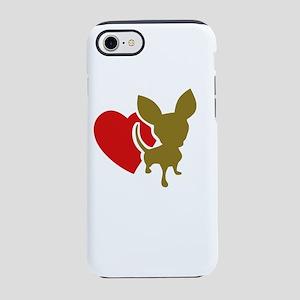 love chihuaua iPhone 8/7 Tough Case