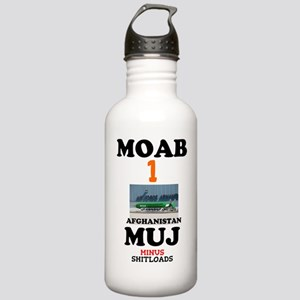 MOAB Bomb Afghanistan Stainless Water Bottle 1.0L