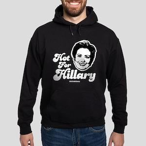 Hot for Hillary Hoodie (dark)