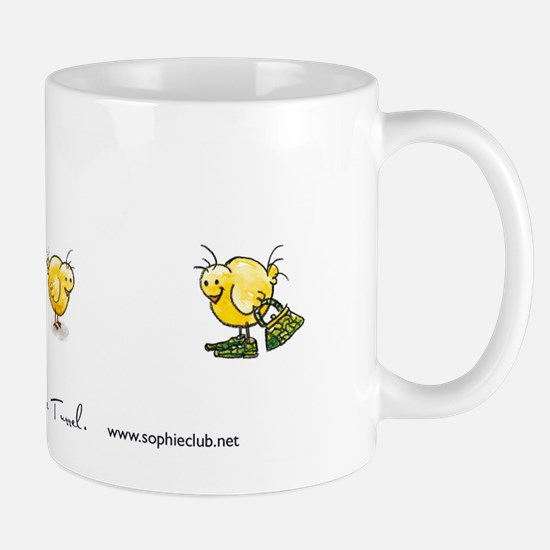 Croc 'n Chick Mug by Sophie Turrel