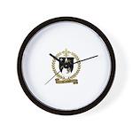 RIMBAULT Family Crest Wall Clock