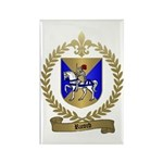 RICORD family Crest Rectangle Magnet (100 pack)