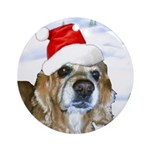 Casey Whickers Ornament (Round)