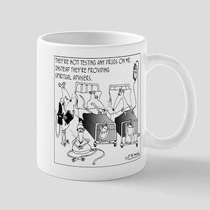 Spiritual Advisors for Lab Rats Mug