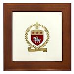 RHAULT Family Crest Framed Tile