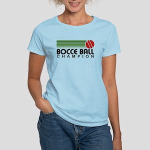 Bocce Ball Champion Women's Light T-Shirt