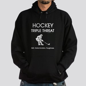 TOP Ice Hockey Slogan Hoodie (dark)