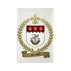 RENOYER Family Crest Rectangle Magnet (100 pack)