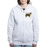 Australian Shepherd Women's Zip Hoodie