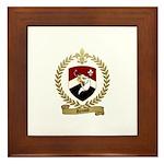 RENAUD Family Crest Framed Tile