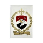 RENAUD Family Crest Rectangle Magnet (100 pack)