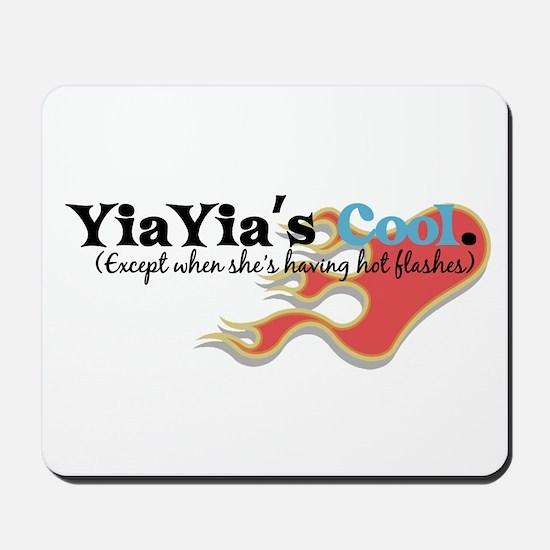 YiaYia's Hot Flashes Mousepad