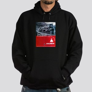 Baldwin S-2 Steam Locomotive Hoodie (dark)