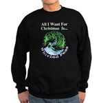Christmas Peas Sweatshirt (dark)