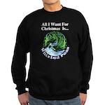 Christmas Peas Sweatshirt (dark)