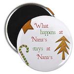 What happens at Nana's Magnet