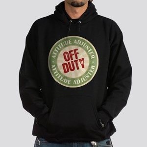 Off Duty Attitude Adjuster Hoodie (dark)