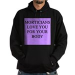 mortician gifts t-shirts Hoodie (dark)