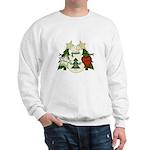 Peace Love Joy Snowman Sweatshirt