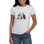 Peace Love Joy Snowman Women's T-Shirt