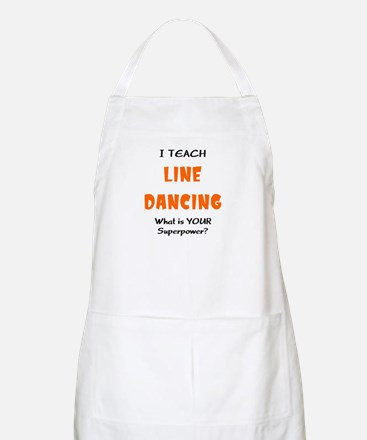 teach line dance Apron