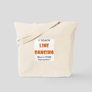 teach line dance Tote Bag