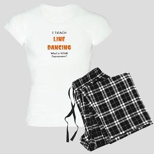 teach line dance Women's Light Pajamas
