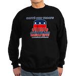 Sauté Our Troops Sweatshirt (dark)