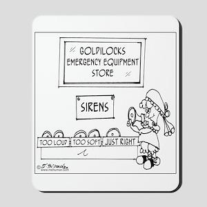 Goldilocks' Emergency Equipment Mousepad