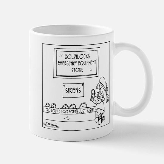 Goldilocks' Emergency Equipment Mug