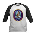 USS IOWA Kids Baseball Jersey