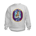 USS IOWA Kids Sweatshirt
