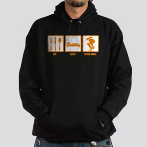 Eat Sleep Speed Skate Hoodie (dark)