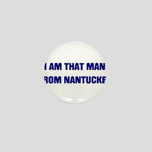 NANTUCKET Mini Button
