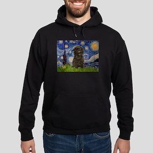 Starry Night / Affenpinscher Hoodie (dark)