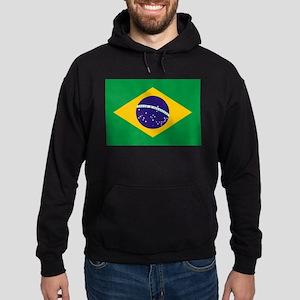 Brazil Flag Hoodie (dark)