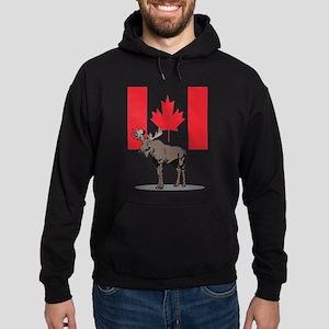 Canadian Moose Hoodie (dark)